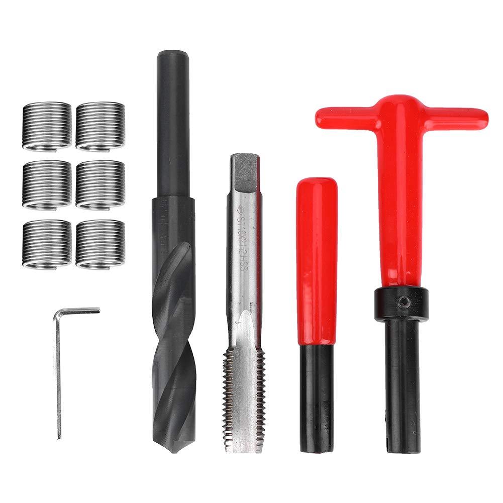 11Pcs Set Seattle Mall Thread Repair Kit Twisted Threaded fo Insert Omaha Mall Drill Tap