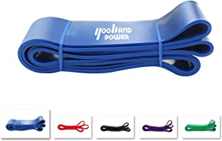Yooband power Pull Up Resistance Assistance Exercise Bands, Heavy Duty Single Band-for Power Training, Physical Therapy, Home Workout, Yoga, Pilates