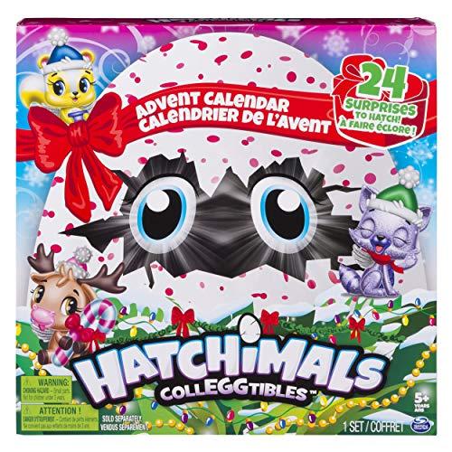 HATCHIMALS Spin Master Egg 6045149 Calendrier de l'Avent à Collectionner pour 5 Ans et Plus