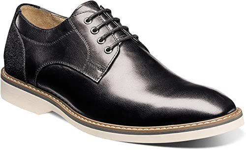 Florsheim Men& 039;s Union Plain Toe Oxford schwarz Smooth schwarz Suede 7 D US D (M)