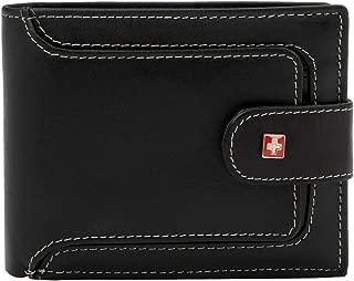 Swiss Military Black Men's Wallet (LW41))