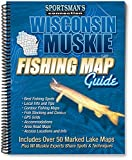 Wisconsin Muskie Fishing Map Guide (Fishing Maps from Sportsman s Connection)