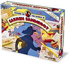 Where in the World is Carmen Sandiego by University Games