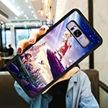 DISNEY COLLECTION Shockproof Case Cover Fit Samsung Galaxy S8 Plus (2017) (6.2 Inch) Disneyland Paris El Rey Leon