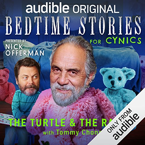 Ep. 8: The Turtle and the Rabbit with Tommy Chong (Bedtime Stories for Cynics) audiobook cover art