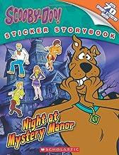Scooby-Doo Sticker Storybook: Night at Mystery Manor