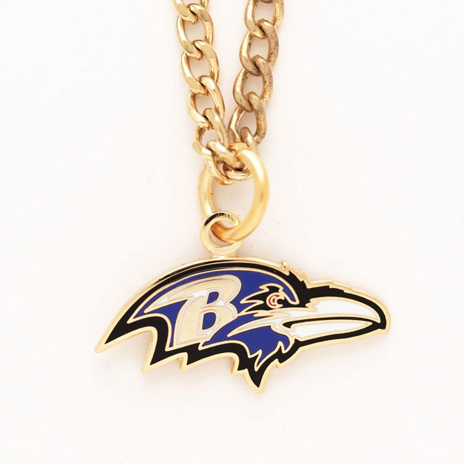 Wincraft NFL Baltimore Ravens 48369061 Necklace with Charm Clamshell