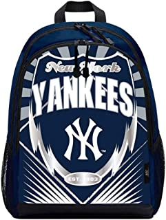 The Northwest Company MLB New York Yankees Backpacklightning Backpack, Team Colors, One Size