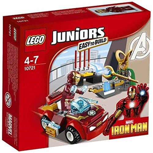 Lego 10721 Juniors Iron Man Vs Loki Playset Amazoncouk Toys Games