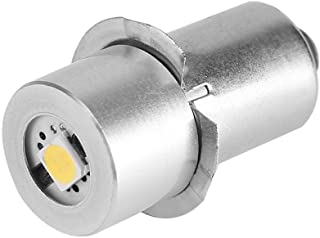 Garsent LED reservelamp voor zaklampen, P13.5S 1W energiebesparende zaklamp noodgevallen gloeilamp (6 V)