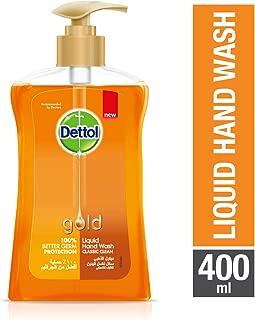 Dettol Gold Classic Clean Anti-Bacterial Liquid Hand Wash 400ml