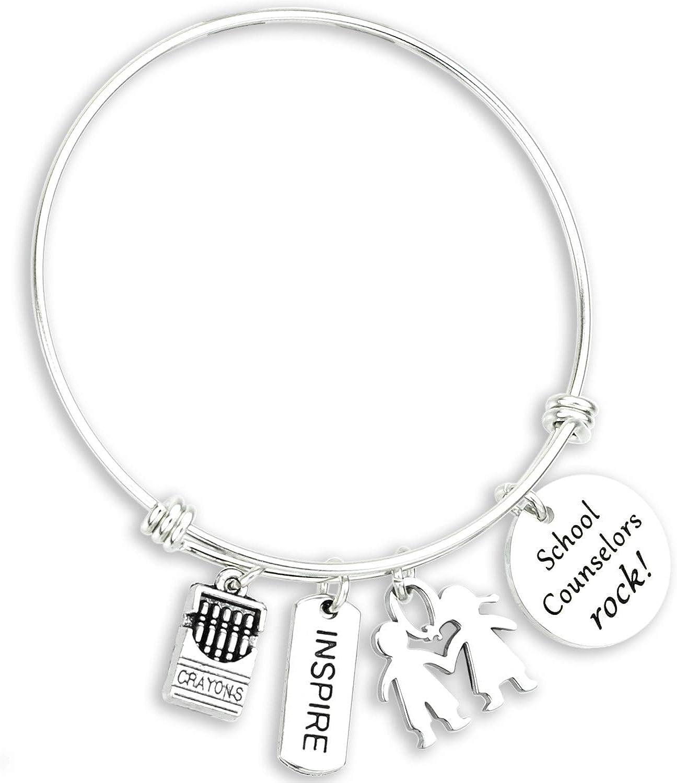 Kivosliviz Counselor Gifts Thank You Gifts for Counselors Best Counselor Ever School Counselor Jewelry