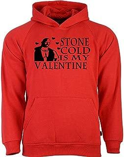 Stone Cold Steve Austin Valentine's Day WWE Wrestling Hoodie Sweatshirt