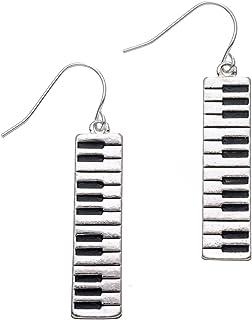 PammyJ Piano Keyboard Dangle Music Earrings | Piano Gifts Fo
