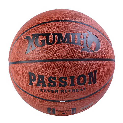 Learn More About XGUMIHO Basketballs PU Leather Outdoor Indoor Games Mens Professional Street Offici...
