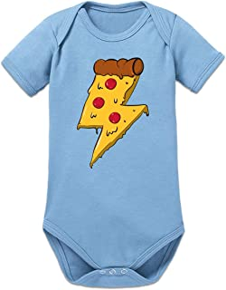Shirtcity Pizza Lightning Baby Strampler by
