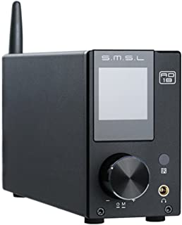 S.M.S.L AD18 HiFi Audio Stereo Amplifier with Bluetooth 4.2 Supports Apt-X,USB DSP Full..
