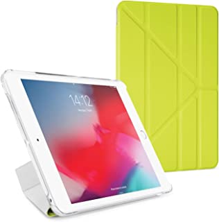 PIPETTO iPad Mini 5 / iPad Mini 4 Luxe Origami Case - Pistachio & Clear