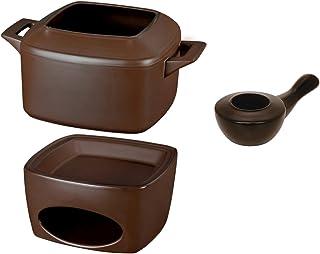 Conjunto Fondue Ceraflame Chocolate 44 X 31, 5 X 16 Cm No Voltagev