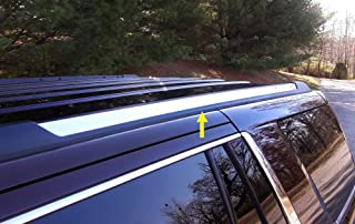 Made in USA! Works with 2015-2019 Chevy Tahoe | GMC Yukon Roof Rack Body Molding Trim Cover 2PC