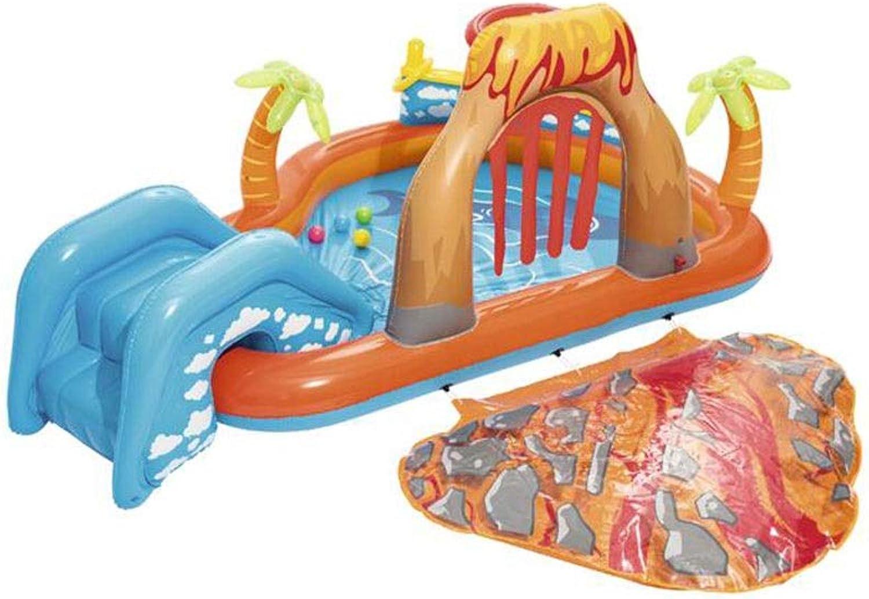 precios al por mayor MXK Centro De Juegos Juegos Juegos Acuáticos Inflables para Niños con Piscina para Niños - Piscina para Niños Sea Life con Actividades Múltiples 208L 265X265X104CM  Compra calidad 100% autentica
