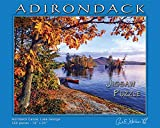 Carl E. Heilman II Adirondack Jigsaw Puzzle, Hornbeck Canoe, Lake George - HCPZ
