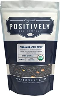 Positively Tea Company, Organic Cinnamon Apple Spice, Black Tea, Loose Leaf, 16 oz. Bag