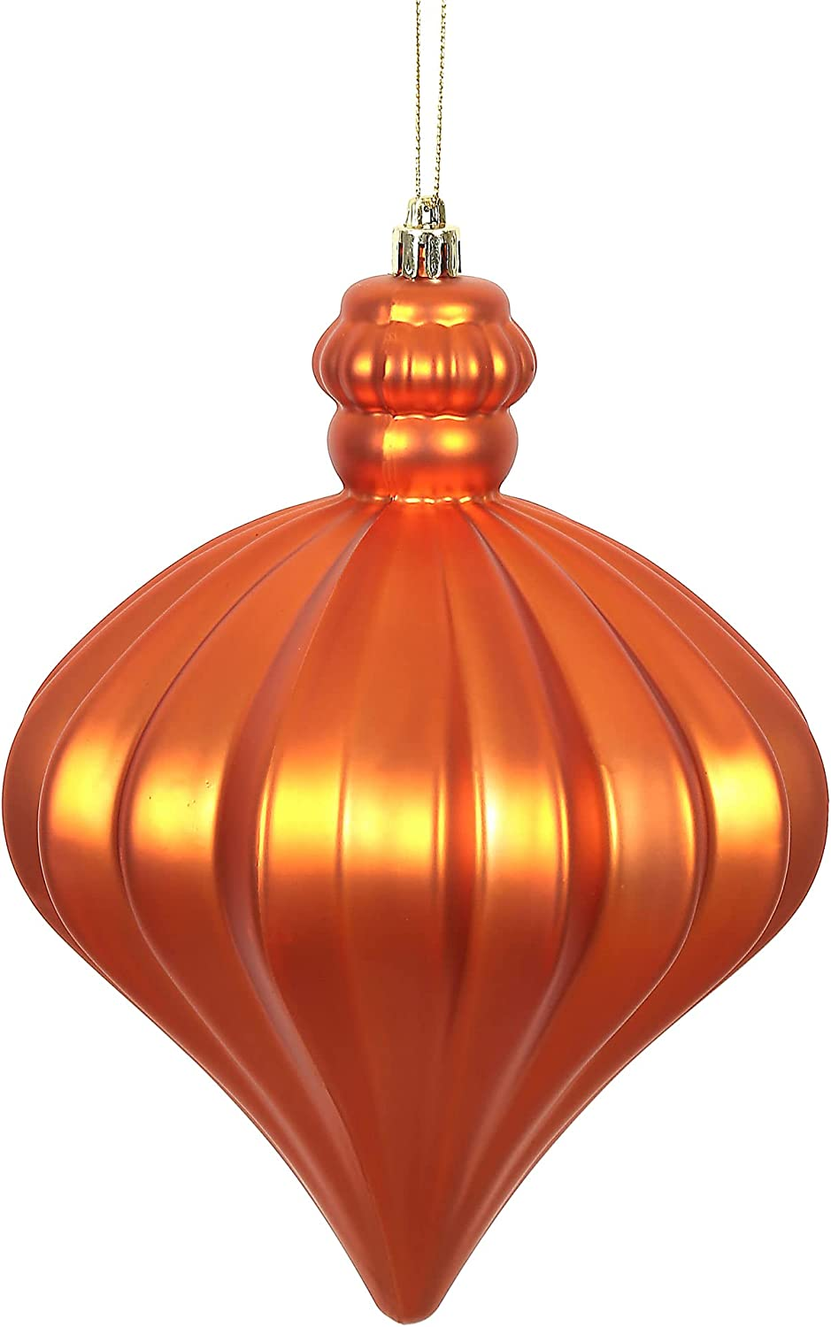 Large discharge sale Sales of SALE items from new works Vickerman Matte Onion Christmas Decorative-Hanging-Pendant-Drop-