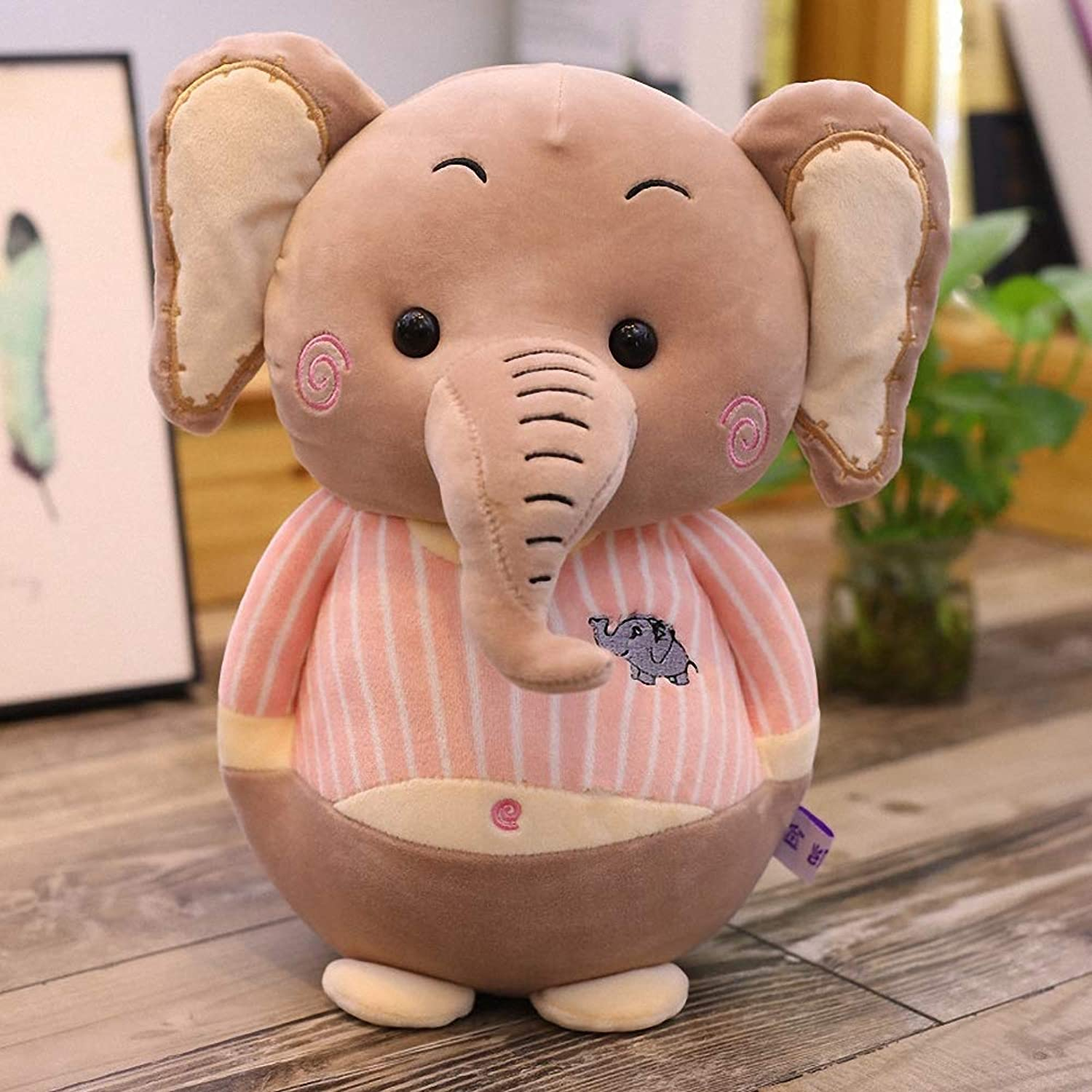 Elephant Plush Toy, Gift for Girlfriend, Kids,Pink,55cm