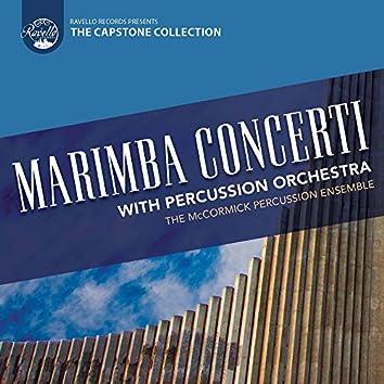 Marimba Concerti with Percussion Orchestra