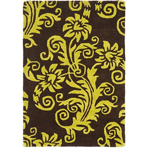 Safavieh Soho soh765d zona alfombra–marrón/verde