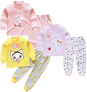 XM-Amigo Conjunto térmico de 3 Capas de Base para niños – Parte Superior e Inferior, Ropa Interior térmica para niñas/niña...