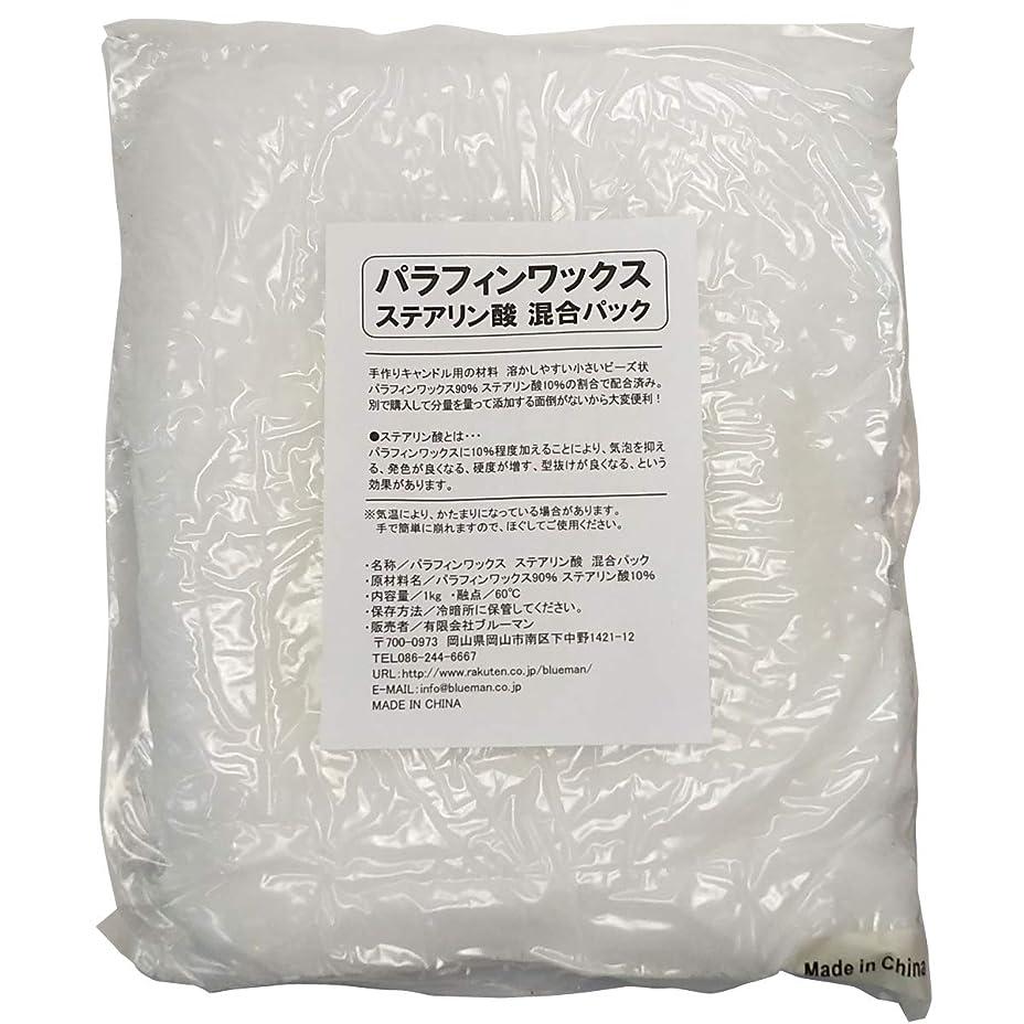 ジョージバーナード王室スラダムパラフィンワックス ステアリン酸 混合パック 1kg 手作りキャンドル 材料 1キロ アロマワックスサシェ