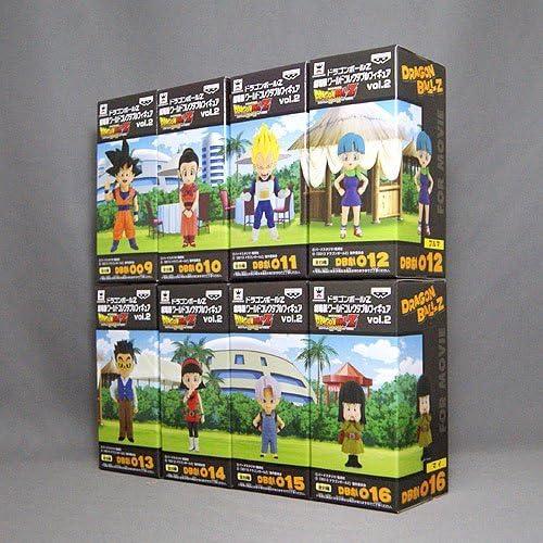 Dragon Ball Z The Movie World Collectible figure vol.2 all eight set Banpresto prize