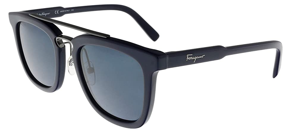 Sunglasses FERRAGAMO SF844S 414 BLUE