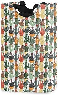 COFEIYISI Grand Organiser Paniers pour Vêtements Stockage,Cactus jumeau Mexicain Succulent Pots botanique sur Le thème Ill...