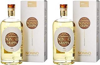 Nonino Distillatori Grappe aus Italien 2er Sparpack Grappa Lo Chardonnay Monovitigno 2 x 0,7 Liter