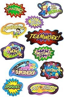 Renewing Minds Superheroes Motivational Mini Bulletin Board Set, Set of 11 Pieces