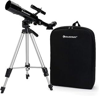 ビクセン(Vixen) セレストロン 天体望遠鏡 Travel Scope 50 with Back Pack 日本語説明書 ビクセン正規保証書付き 36033 CELESTRON 21038