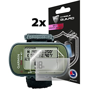 2x BROTECT Matte Screen Protector for Garmin Foretrex 401 Protection Film