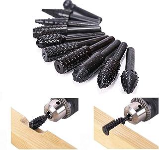 ASNOMY 10 punte elicoidali per la lavorazione del legno, per la lavorazione del legno, punte da trapano a forma di scalpel...