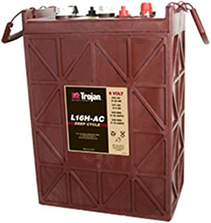 Trojan L16H-AC Flooded Lead Acid Deep Cycle Battery 6V 435Ah FAST USA SHIP