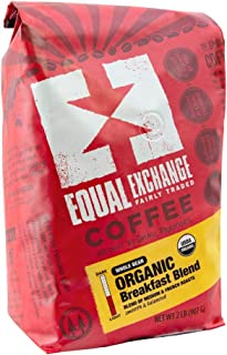 Sponsored Ad - Equal Exchange Organic Whole Bean Coffee, Breakfast Blend, 2 Pound