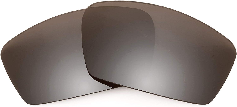 Revant Verres de Rechange pour Oakley Square Whisker - Compatibles avec les Lunettes de Soleil Oakley Square Whisker Bronze Mirrorshield - Polarisés Elite