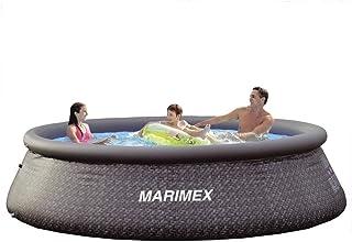 Marimex Tampa Ratan - Piscina hinchable para jardín sin accesorios, redonda, 3,66 x 0,91 m