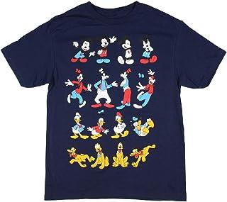 Disney Mickey Goofy Donald y Pluto - Camiseta para niño