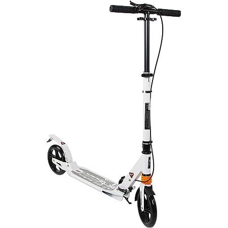 COSMOLINO Patinetes - Scooter para Adultos - Scooter para niños - con Freno de Mano - Plegable - Altura Ajustable