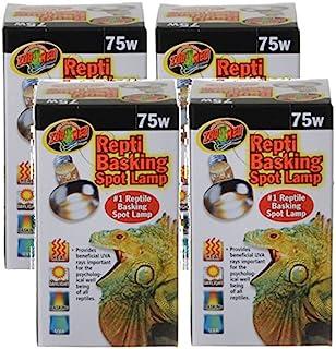 Zoo Med Repti Basking Lamps 75 Watt (4 Pack)