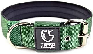 TS PRO Tactical Dog Collar Adjustable Heavy Duty Metal Buckle Dog Tactical Collar Military Training Dog Collar