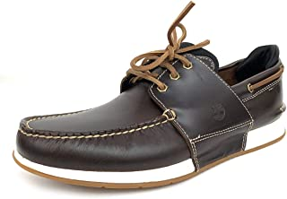 TIMBERLAND HEGER'S Bay 3 Eye Boat Mocassin & Chaussures nautiques homme Marron